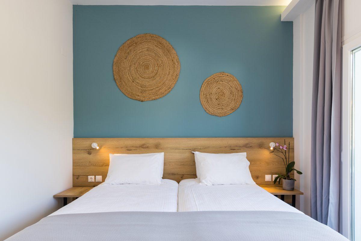 ipsos corfu luxury apartments bedroom hotel 2