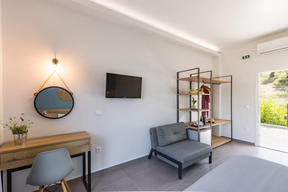 ipsos corfu luxury apartments bedroom hotel